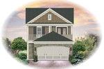Country House Plan Front of Home - 087D-1206 | House Plans and More