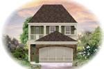 Southern House Plan Front of Home - 087D-1207 | House Plans and More