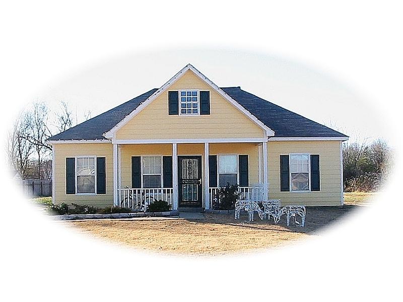 Comfortable Country Ranch Has Symmetrical Façade