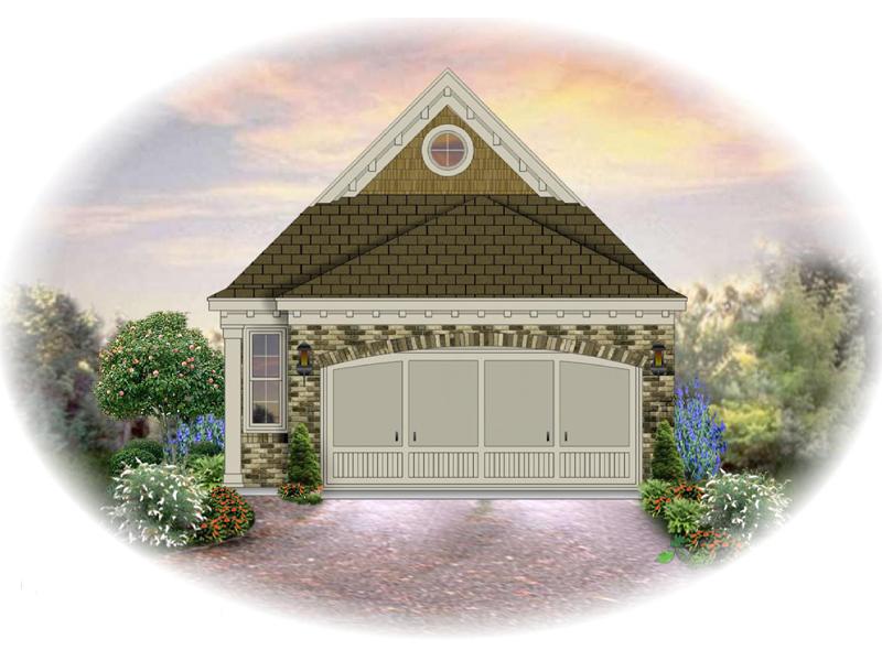 Unique Narrow Lot Design With Handsome Brick Exterior