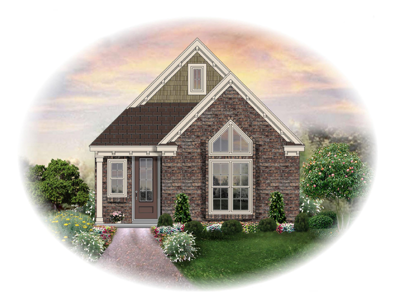 Ranch House Plan Front of Home - 087D-1238 | House Plans and More