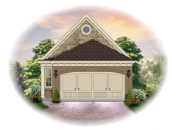 Hartford hill narrow lot home plan 087d 1239 house plans for Narrow house plans with front garage