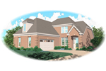 Spacious, Functional Two-Story Brick Home