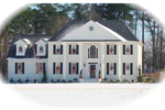 Colonial House Plan Front of Home - 087D-1288 | House Plans and More