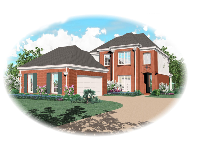 Colonial Floor Plan Front of Home - 087D-1301 | House Plans and More