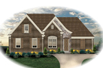 Traditional House Plan Front of Home - 087D-1303 | House Plans and More