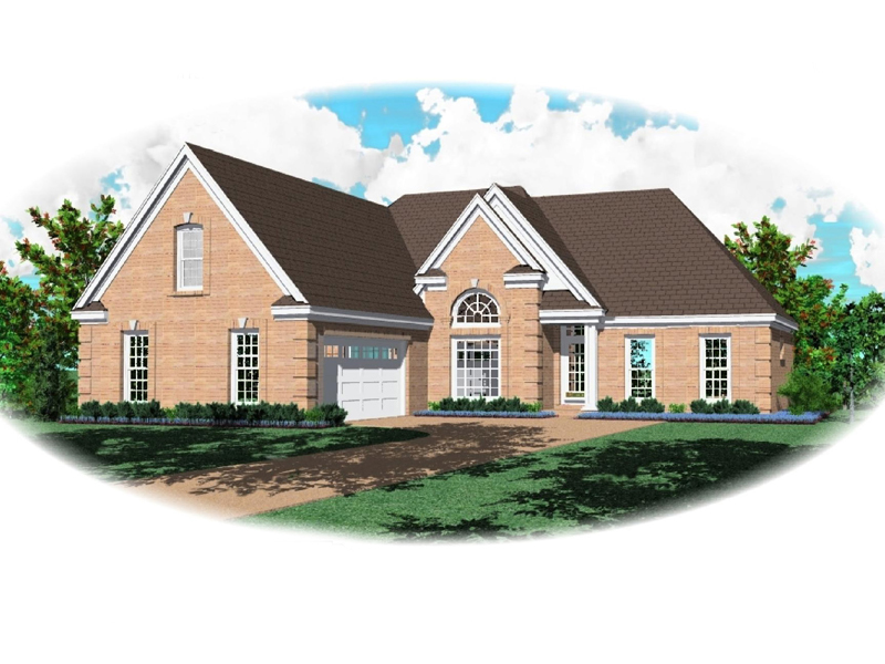 Neoclassical Home Plan Front of Home - 087D-1304 | House Plans and More