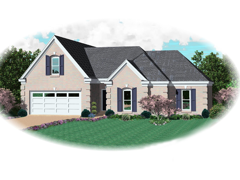 Country House Plan Front of Home - 087D-1337 | House Plans and More