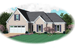 Traditional House Plan Front of Home - 087D-1337 | House Plans and More