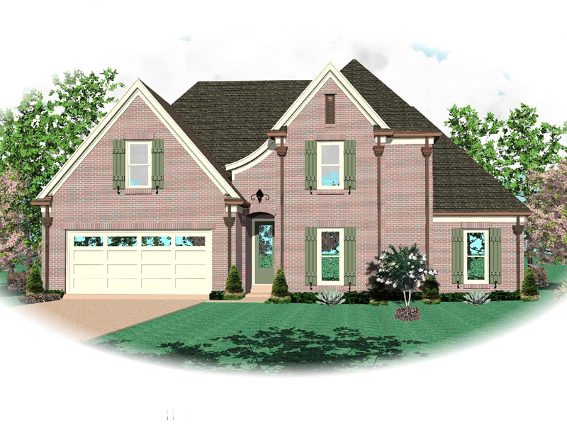 Traditional House Plan Front of Home - 087D-1338 | House Plans and More