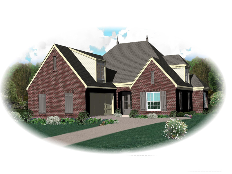 Luxury House Plan Front of Home - 087D-1343 | House Plans and More