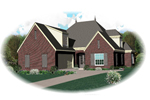 European House Plan Front of Home - 087D-1343 | House Plans and More