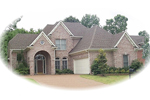 A Wide Arched Entry Adorns This Luxury Home