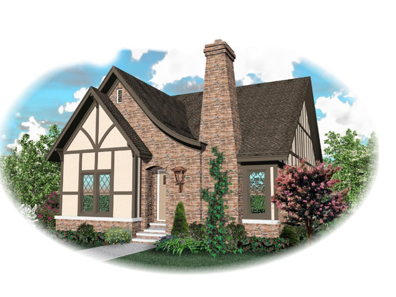 Tudor Style Home Has Warm, Cozy Feel