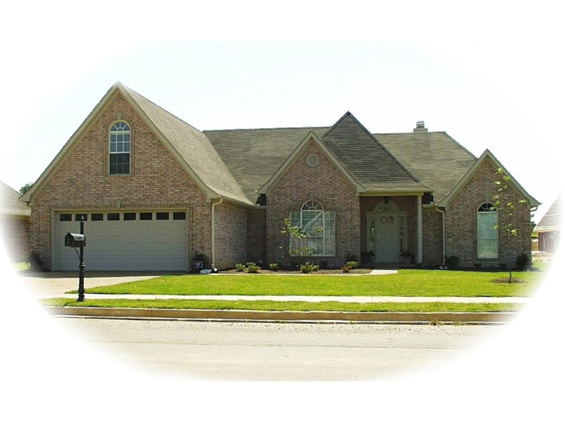 Spacious Traditional Design Has Brick Exterior