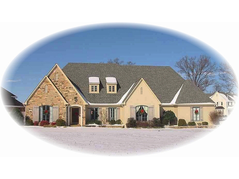 Country House Plan Front of Home - 087D-1423 | House Plans and More