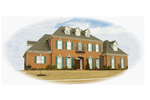 Stately Luxury Two-Story Design