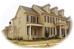 Colonial Floor Plan Front of Home - 087D-1451 | House Plans and More
