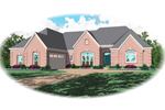 Traditional House Plan Front of Home - 087D-1461 | House Plans and More