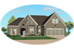 Traditional House Plan Front of Home - 087D-1551 | House Plans and More