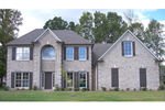 Southern House Plan Front of Home - 087D-1580 | House Plans and More