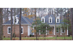 Trio of Dormers Adds Soothing Feel To This Colonial House