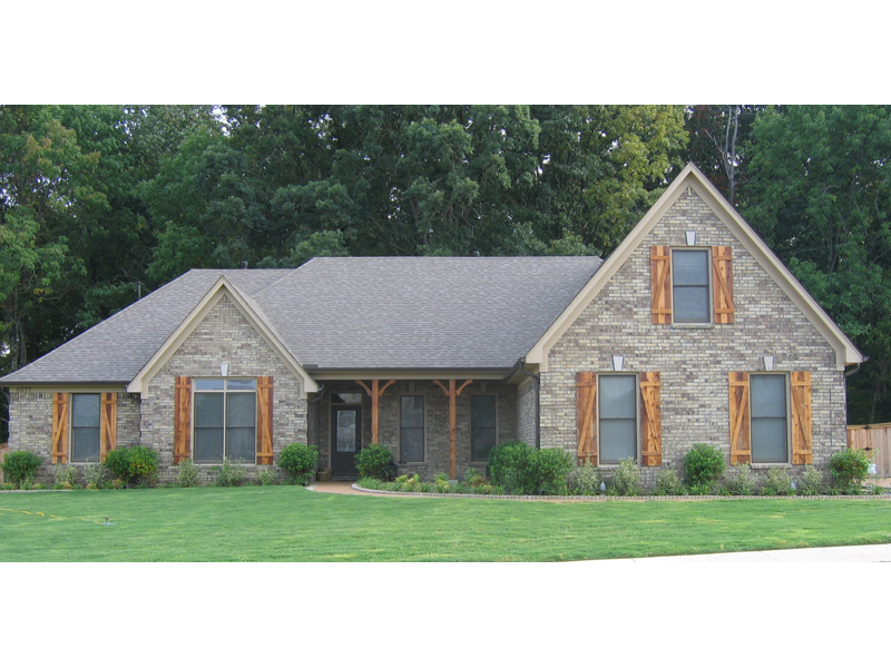 Southern House Plan Front of Home - 087D-1663   House Plans and More