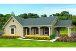 Traditional House Plan Front of Home - 087D-1680 | House Plans and More