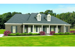 Country House Plan Front of Home - 087D-1681 | House Plans and More