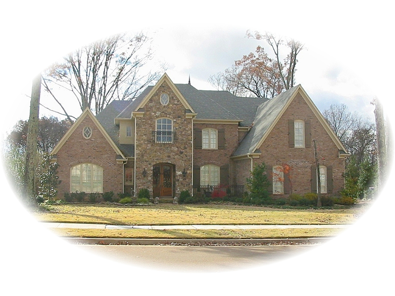 European Inspired Two-Story Brick Home