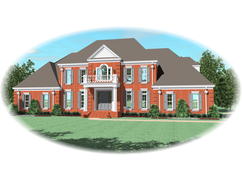 Georgian Style Luxury House Design