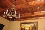 Country French Home Plan Ceiling Detail Photo - 087S-0116 | House Plans and More