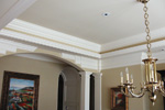 European House Plan Ceiling Photo - 087S-0116 | House Plans and More