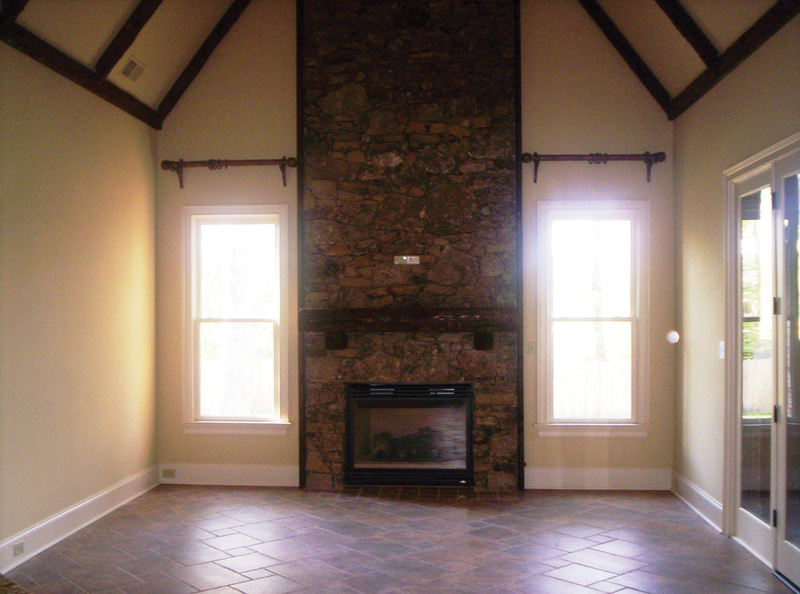 Traditional House Plan Fireplace Photo 01 087S-0116