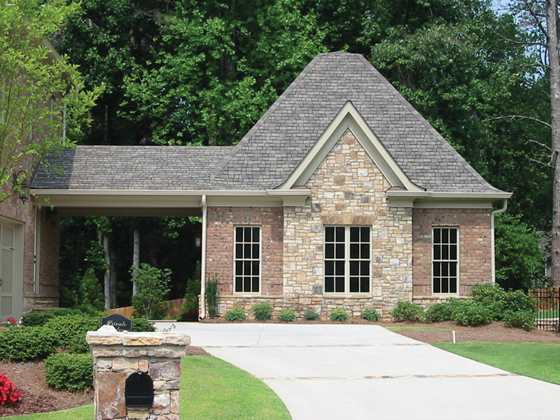 Country French Home Plan Garage Photo 087S-0116