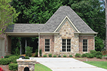 Country French Home Plan Garage Photo - 087S-0116 | House Plans and More
