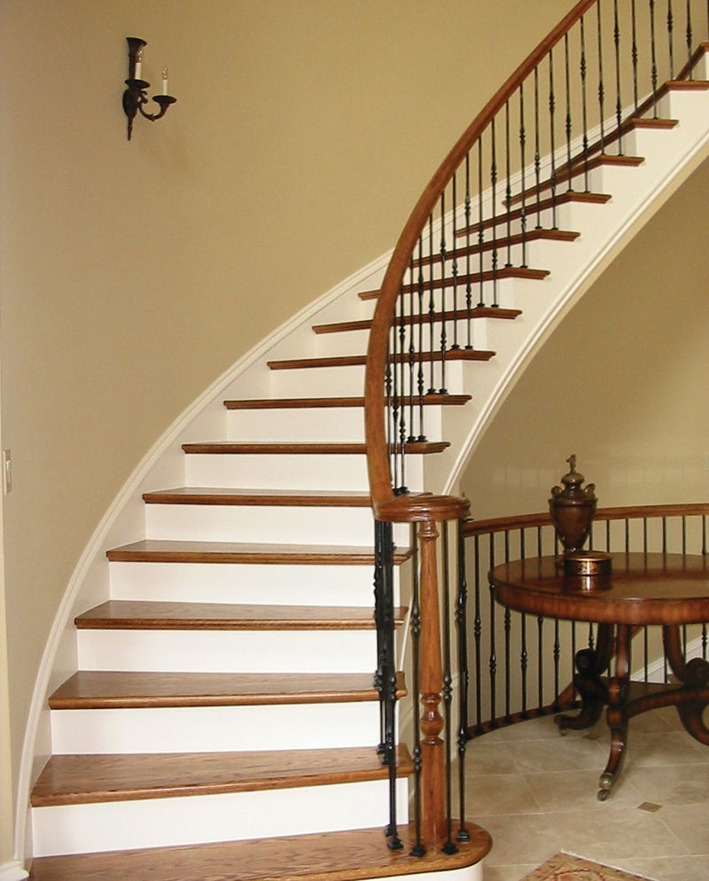 European House Plan Stairs Photo 01 087S-0116