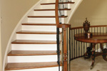 European House Plan Stairs Photo 01 - 087S-0116 | House Plans and More