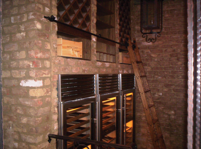 European House Plan Wine Cellar Photo 087S-0116