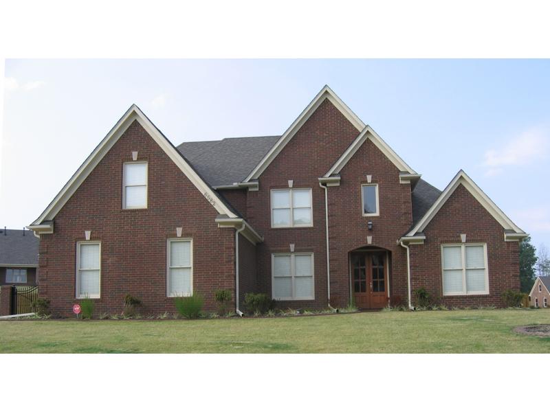 Handsome Brick Home Boasts Luxury