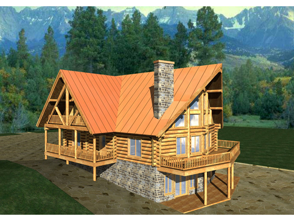 Houseplan088D 0012 on rustic log cabin mud room