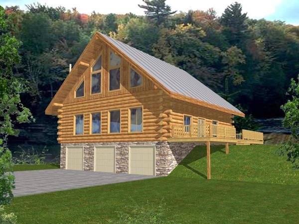 Garman Hollow A Frame Home Plan 088d 0051 House Plans