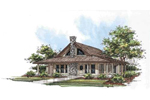 Wrap-Around Porch Adds Country Character To This Ranch Home