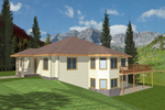 Home Design Perfect For A Scenic Sloping Lot