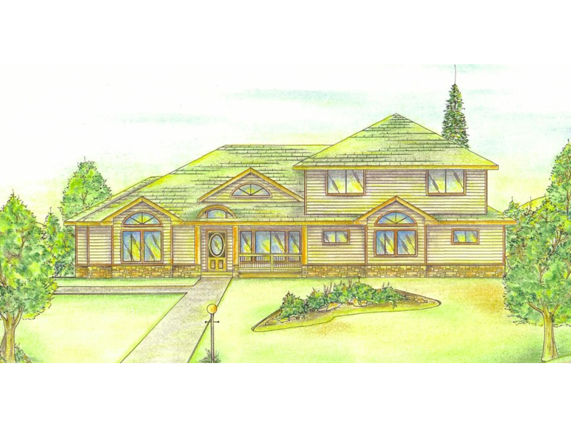 Aspen Hill Rustic Luxury Home Plan 088d 0175 House Plans
