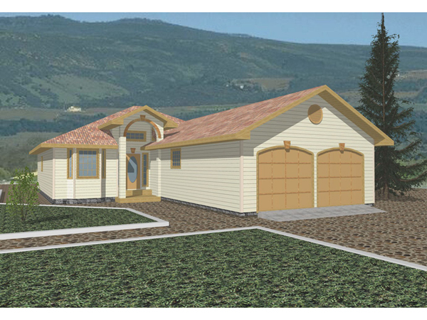 Elkmont Southwestern Home Plan 088d 0189 House Plans And