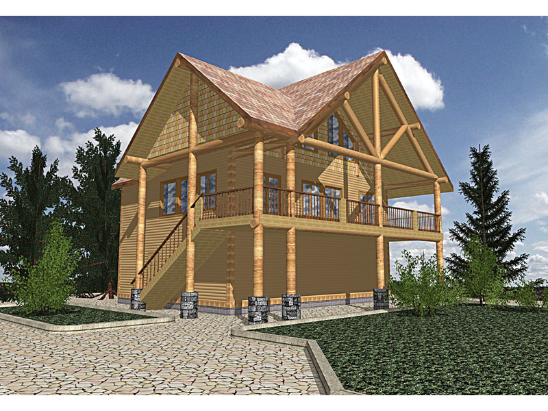 Cabin House Plans Covered Porch Numberedtype