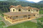Expansive Contemporary Home With Wrap-Around Porch