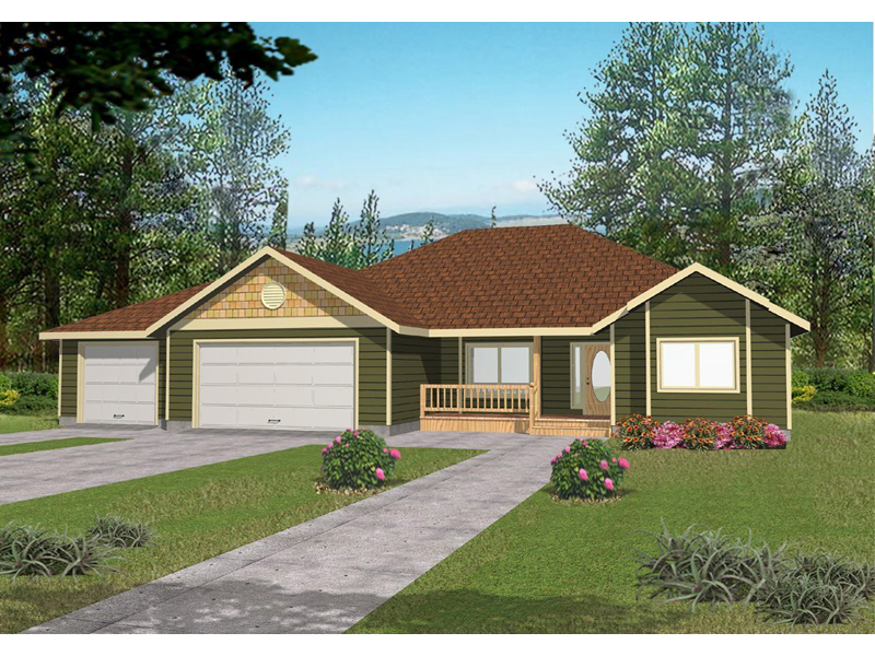 Shingle House Plan Front of Home - 088D-0261 | House Plans and More