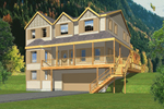 Two-Story Home Designed For Mountain Views